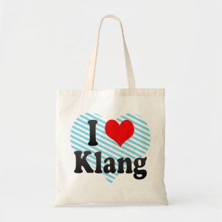I Love Klang, Malaysia Tote Bag