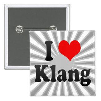 I Love Klang, Malaysia Buttons