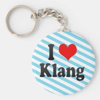 I Love Klang, Malaysia Keychain