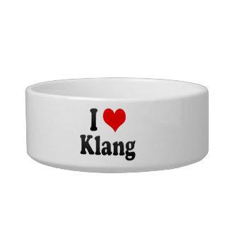 I Love Klang, Malaysia Cat Food Bowl