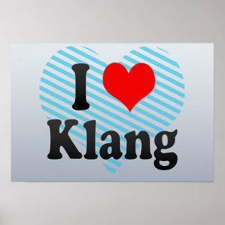 I Love Klang, Malaysia Print