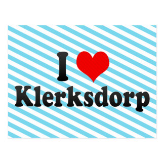 I Love Klerksdorp, South Africa Postcard