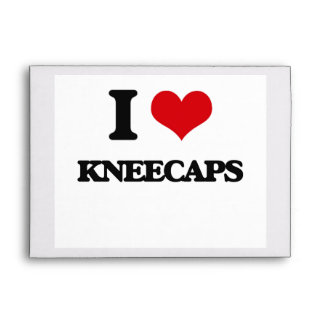 I Love Kneecaps Envelope