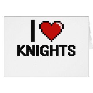 I love Knights Greeting Card