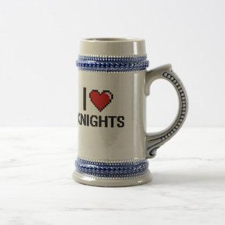 I love Knights 18 Oz Beer Stein
