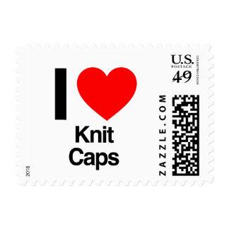 i love knit caps postage