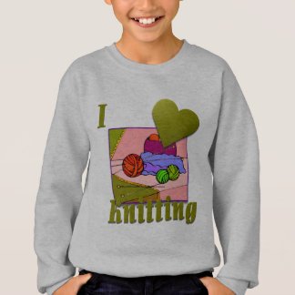 I Love Knitting #2 Sweatshirt