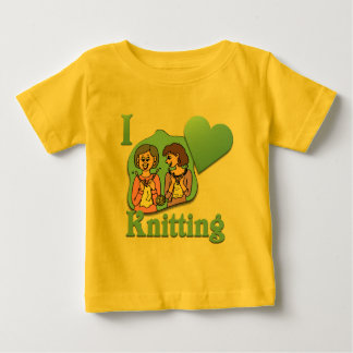 I Love Knitting #3 Baby T-Shirt