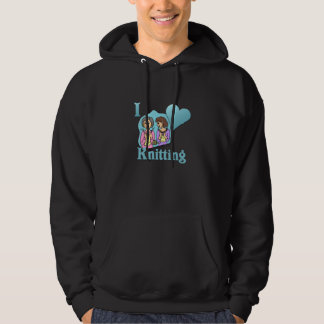 I Love Knitting #3 Hoodie