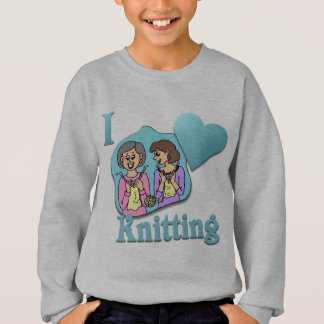 I Love Knitting #3 Sweatshirt
