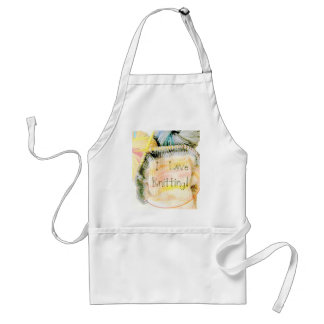 I Love Knitting Awesome Design Yarn Needles Adult Apron