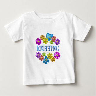 I Love Knitting Baby T-Shirt