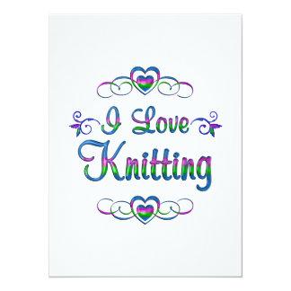 I Love Knitting Card