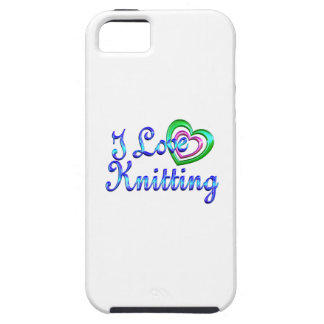 I Love Knitting iPhone 5 Cases