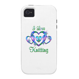 I Love Knitting iPhone 4 Cover