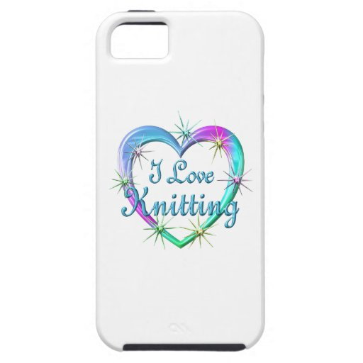 I Love Knitting Cover For iPhone 5/5S