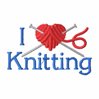 I Love Knitting Hoodie