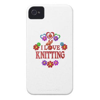 I Love Knitting iPhone 4 Case-Mate Case