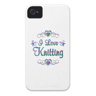 I Love Knitting iPhone 4 Case-Mate Cases