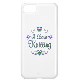 I Love Knitting iPhone 5C Case