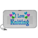 I Love Knitting Mp3 Speaker