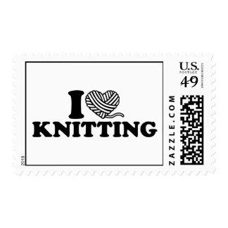 I love knitting postage