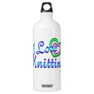 I Love Knitting SIGG Traveler 1.0L Water Bottle