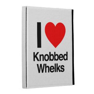 i love knobbed whelks iPad folio covers