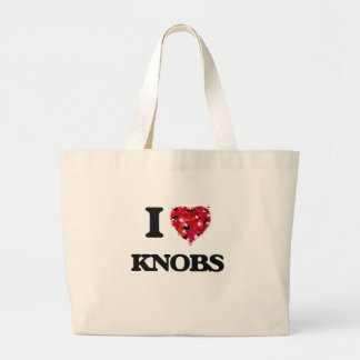 I Love Knobs Jumbo Tote Bag