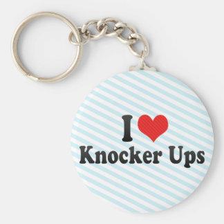 I Love Knocker Ups Key Chain
