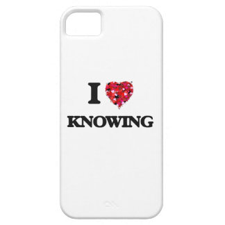 I Love Knowing iPhone 5 Covers