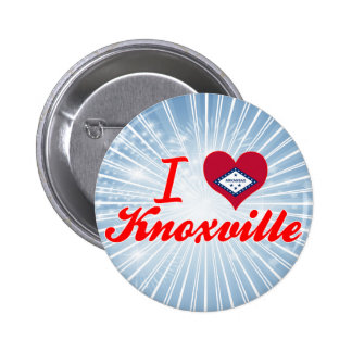 I Love Knoxville Arkansas Button