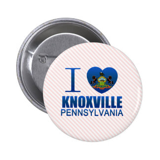 I Love Knoxville PA Button