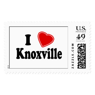I Love Knoxville Postage Stamps