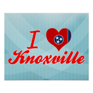 I Love Knoxville, Tennessee Poster