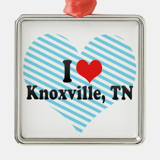 I Love Knoxville, TN Ornament