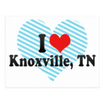 I Love Knoxville, TN Postcard