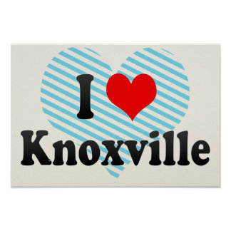 I Love Knoxville, United States Poster