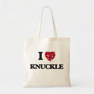 I Love Knuckle Budget Tote Bag