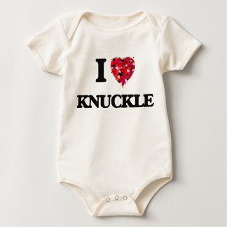 I Love Knuckle Romper