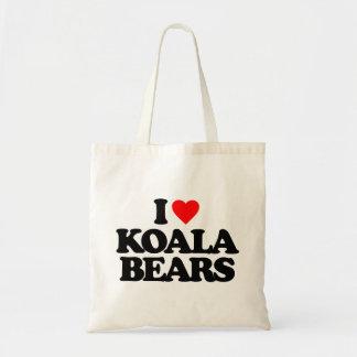 I LOVE KOALA BEARS TOTE BAG