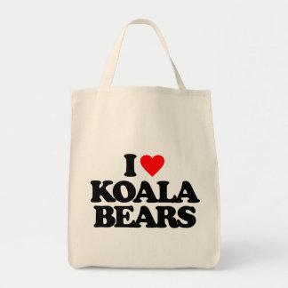 I LOVE KOALA BEARS BAG