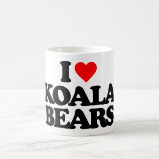 I LOVE KOALA BEARS 11 OZ MAGIC HEAT Color-Changing COFFEE MUG