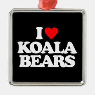 I LOVE KOALA BEARS ORNAMENTS