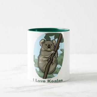 I Love Koala Mugs