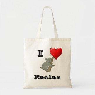 I Love Koalas Bag