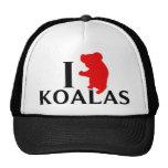 I Love Koalas Hats