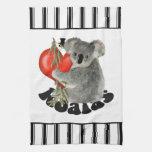 I Love Koalas Kitchen Towels