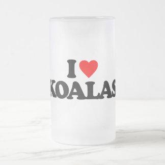 I LOVE KOALAS BEER MUGS