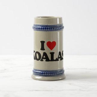I LOVE KOALAS 18 OZ BEER STEIN